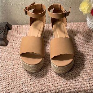BRAND NEW SHEIN Espadrille Platform Sandals 👡